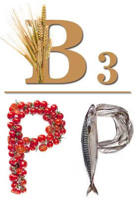 Витамин B3 (Ниацин, Витамин PP, Никотиновая кислота). Функции, источники и применение никотиновой кислоты